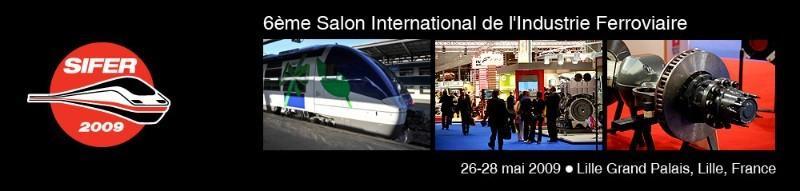 Participation au 6ème salon du Ferroviaire à Lille